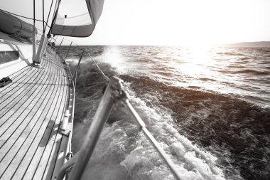 Yacht, sailing regatta.