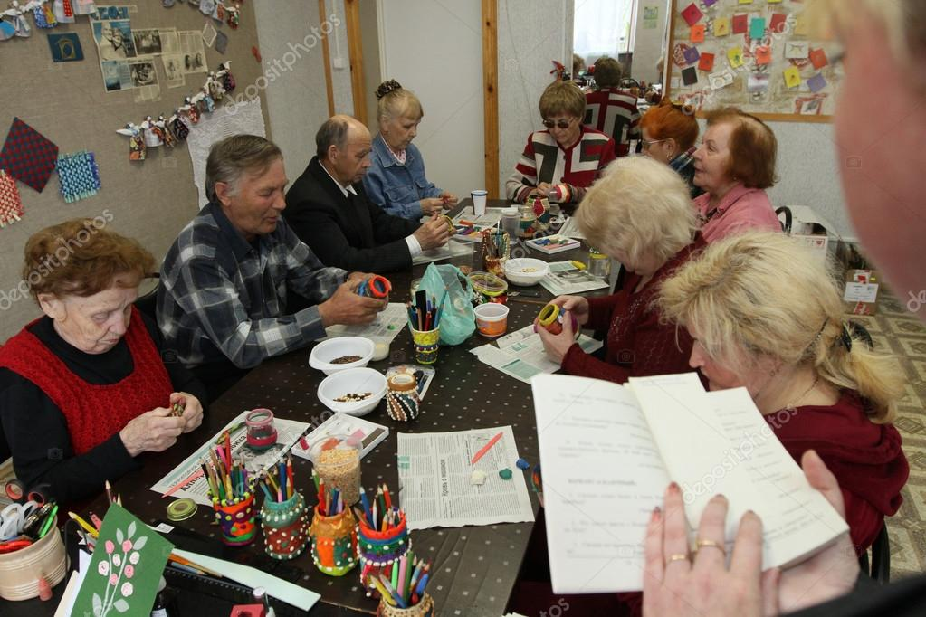 Social services for pensioners