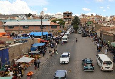 center of city, Potosi, Bolivia.