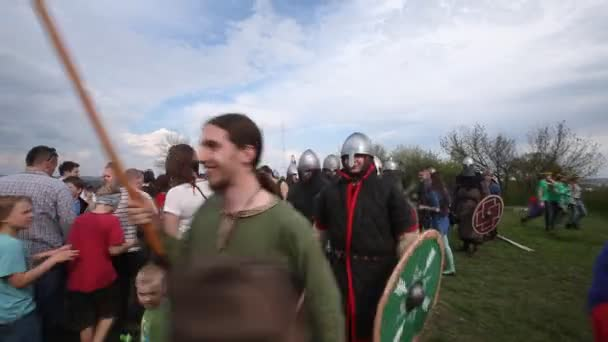 Rekawka - Polish tradition, festival historical reconstruction.
