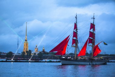 Festival Scarlet Sails in ST. Petersburg