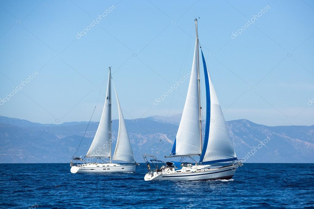 Sailboats on  water