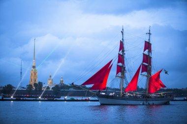 Frigate participated in Scarlet Sails festival
