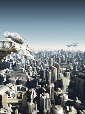 Future City Under Attack