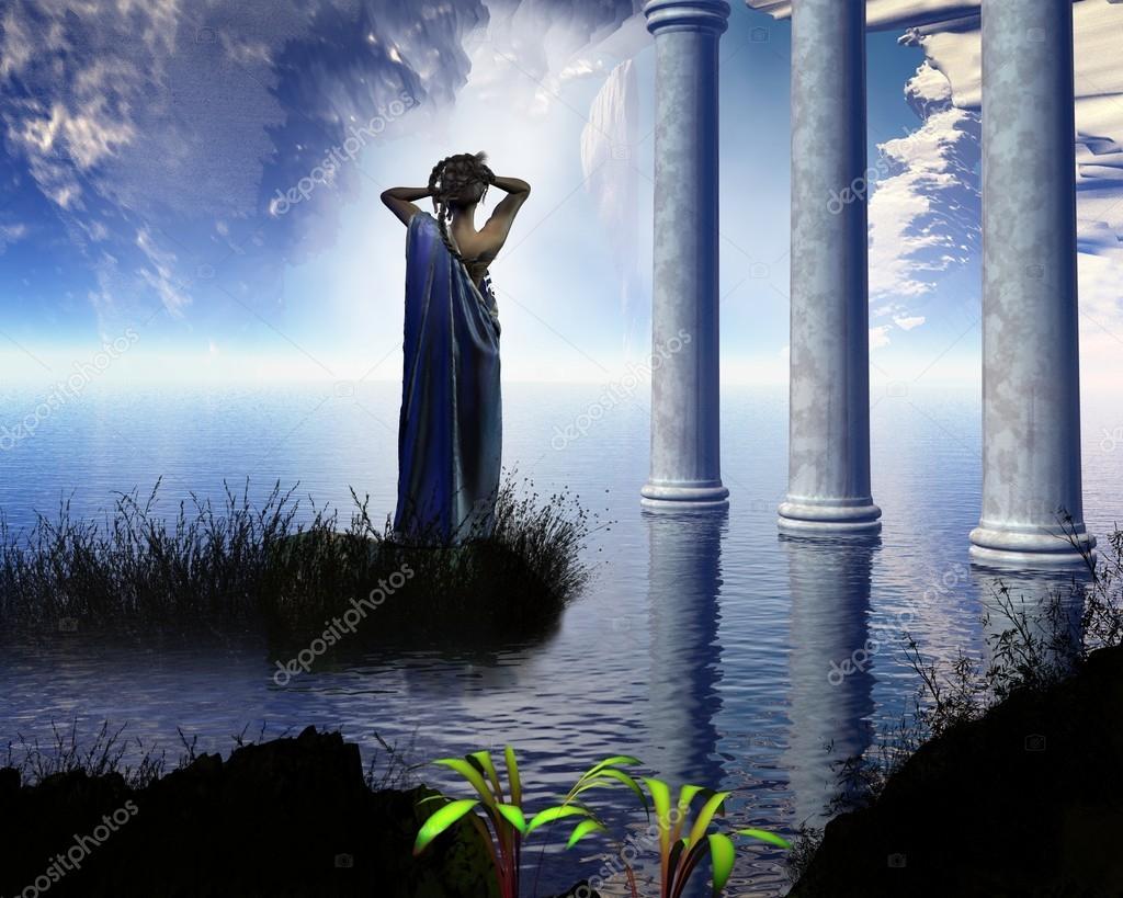 Грот Афродиты — Стоковое фото
