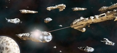 Battle Fleet in Action