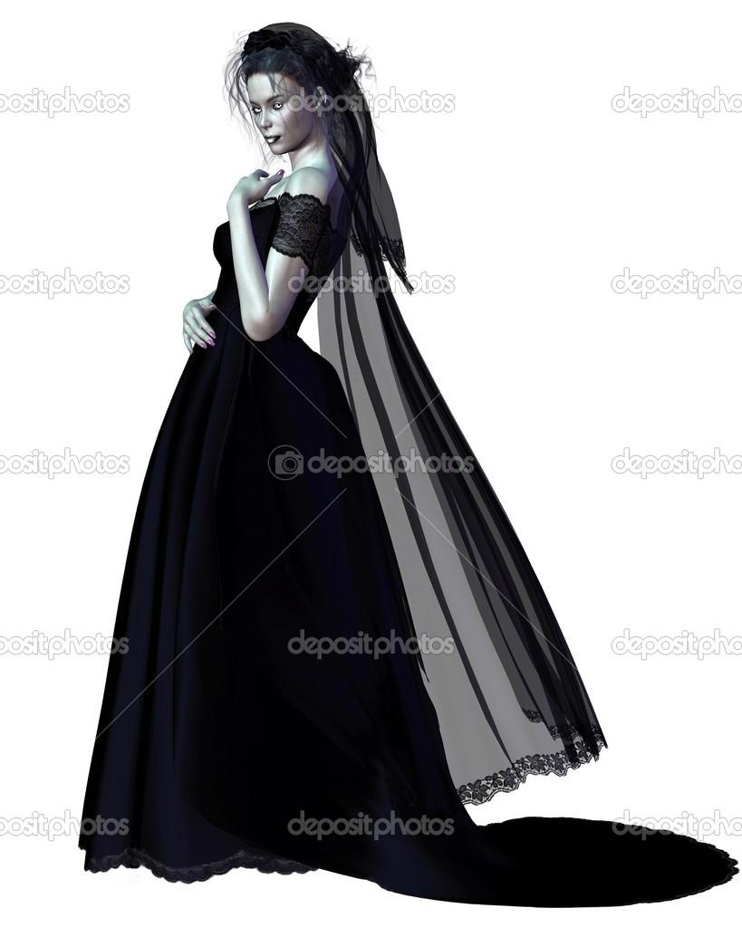 ordinare on-line selezionare per lo spazio incontrare Sposa gotica — Foto Stock © algolonline #29231535