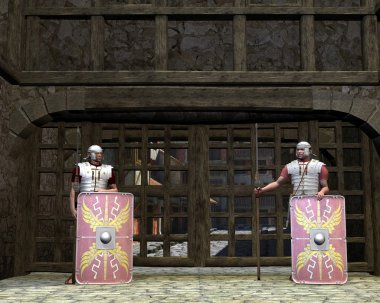 Roman Legionary Gate Guards