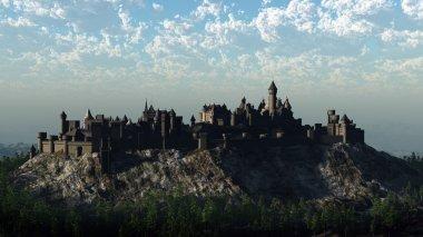 Medieval Mountain Castle