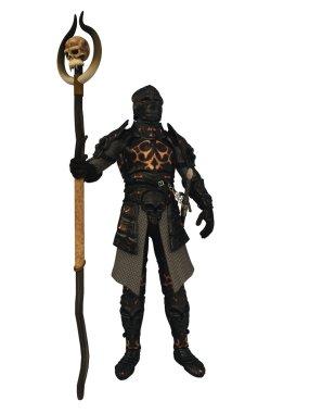 Dark Lord in Black Armour