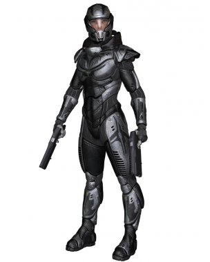Female Science Fiction Soldier - Standing