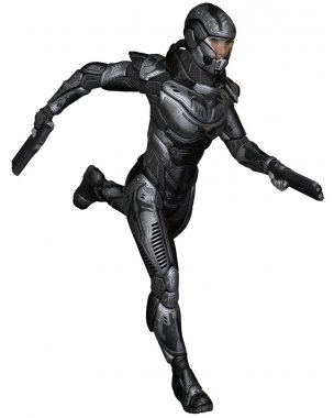 Female Science Fiction Soldier - Running