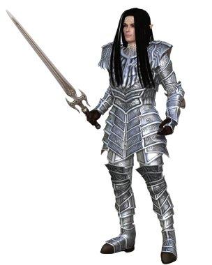 Elf Warrior - Standing