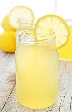 Lemonade in a jar