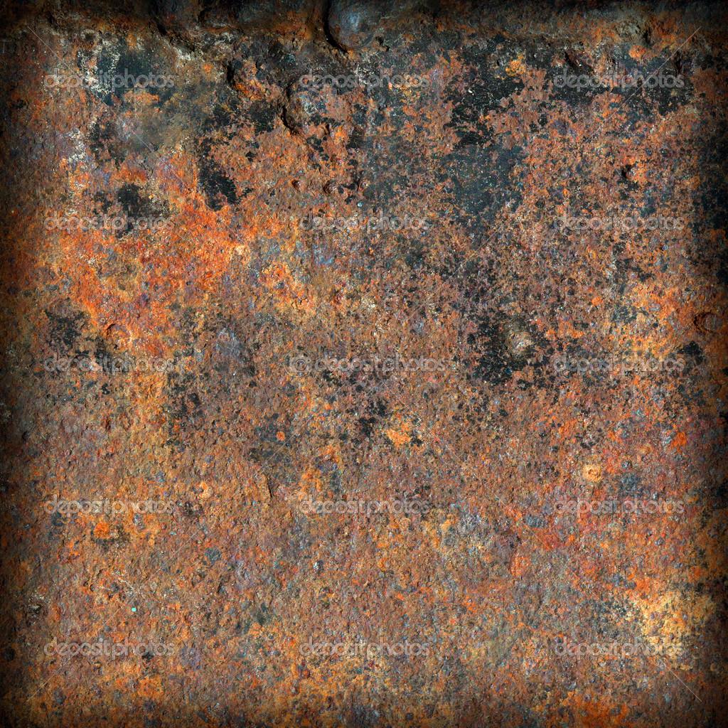 Texture en métal rouillé de grunge — Photographie Spanychev © #33293017