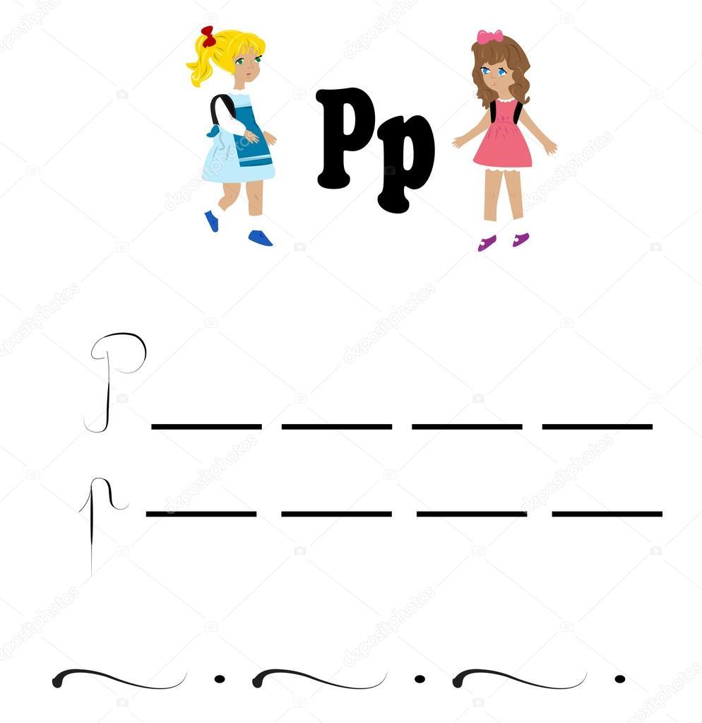 Alphabet Arbeitsblatt Buchstaben \