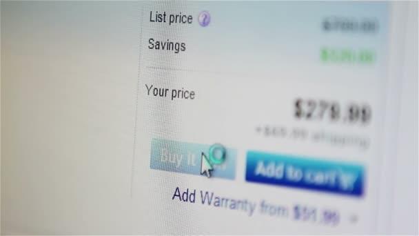 nakupovat on-line na webových stránkách