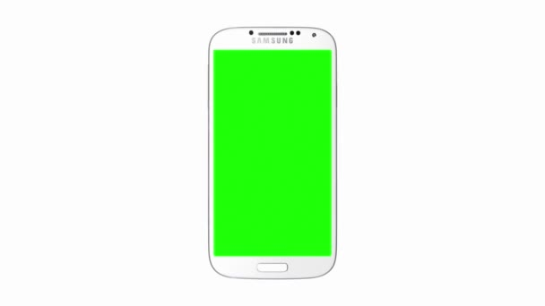 Samsung galaxy s4 with green screen and alpha matte stock video samsung galaxy s4 with green screen and alpha matte stock video ccuart Image collections