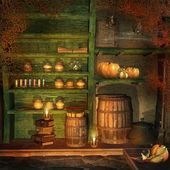 Fantasy szoba egy régi parasztház