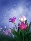 Tavaszi tulipán