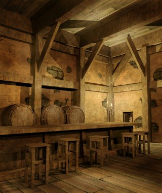 Old fantasy tavern