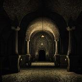 Fotografie středověký sklep