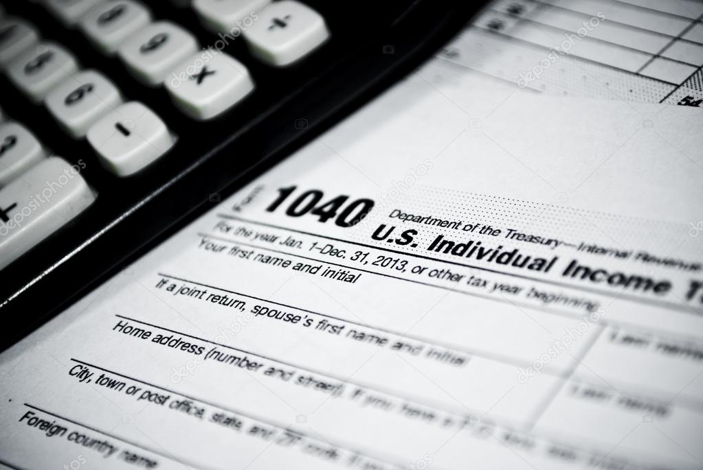 leere Einkommensteuer-Formulare — Stockfoto © Mattz90 #39380153