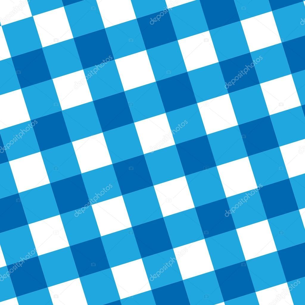 blaue Picknick-Tuch — Stockfoto © ellandar #32790507