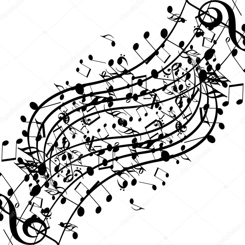 Music Notes Stock Photo Ellandar 32790625