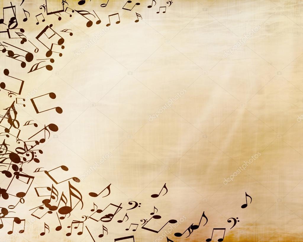 hoja de música — Foto de stock © ellandar #33733673
