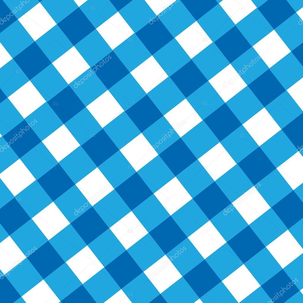 blaue Picknick-Tuch — Stockfoto © ellandar #35626975