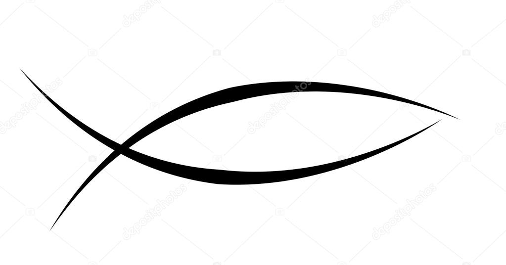 Christian Fish Symbol Stock Photo Ellandar 36139519