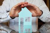 Fotografie koncepce pojištění nemovitostí