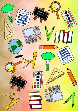 Colourful Education Pattern