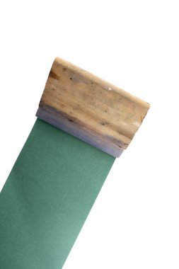 Squeegee from corner