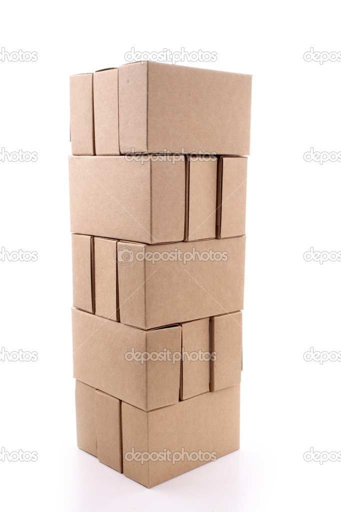 Cardboard boxes for business cards stock photo lucato 20383697 cardboard boxes for business cards stock photo reheart Choice Image