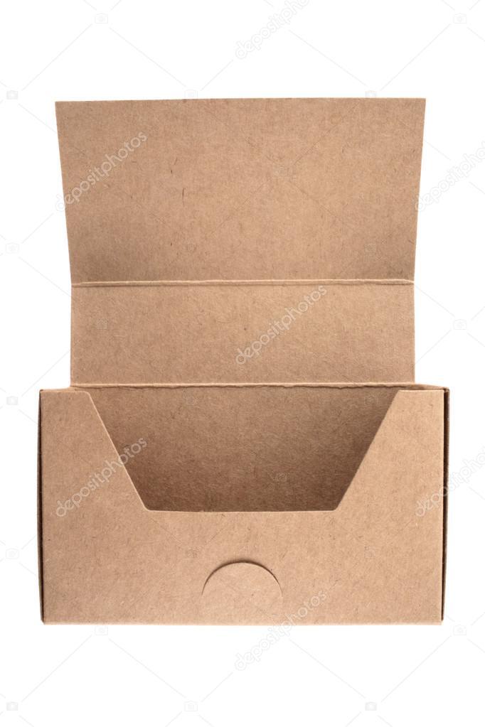 Empty business card cardboard box — Stock Photo © lucato #20383773