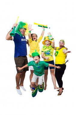 Brazilian girls supporters