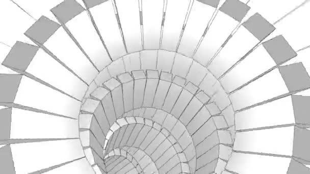 Spiral ink animation