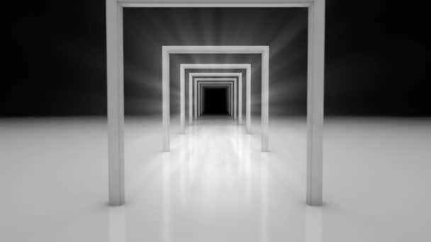 dveře abstraktní animace