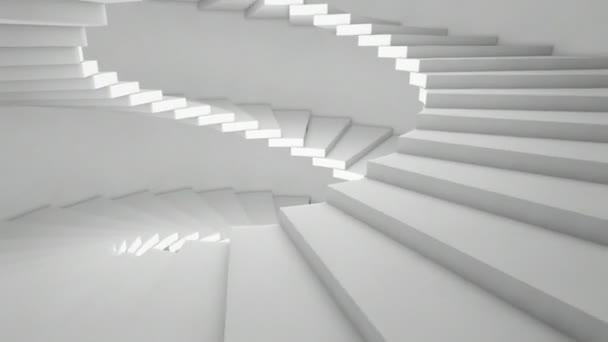 boční animace schodišti
