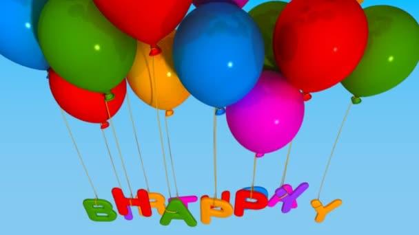 blahopřání k narozeninám video balónek blahopřání k narozeninám — Video © 02lab #13705138 blahopřání k narozeninám video