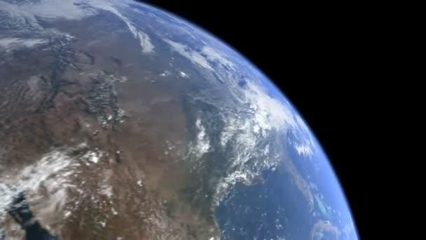 3D rotující země