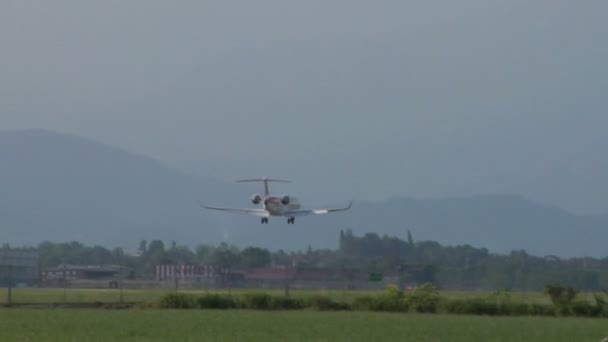 letadla přistávající