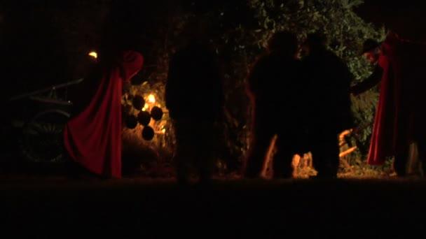 čarodějnice vypálit provedení