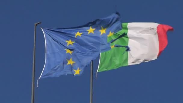 EU Italy flag