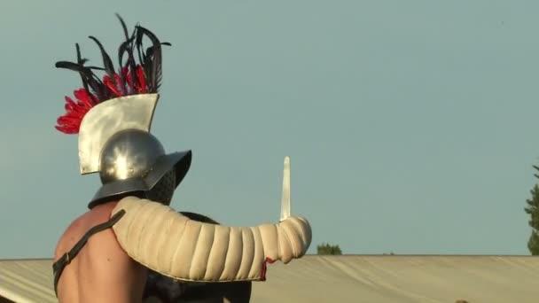 Římští legionáři během reencování