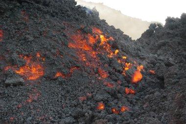 Molten lava in guatemala
