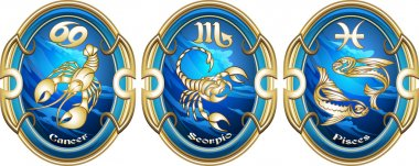 Zodiac signs of water