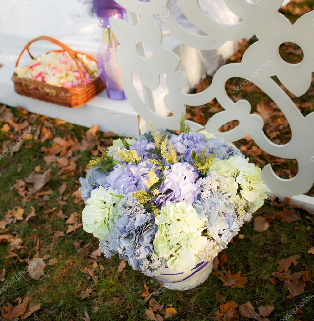 Svatebni Dekorace V Zahrade Stock Fotografie C Manifeesto V 33716977